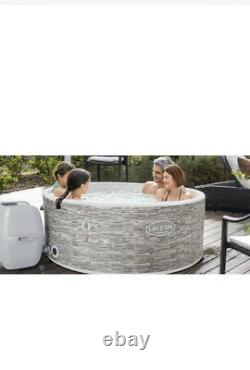 Lay Z Spa Vancouver WiFi AirJet Inflatable 5 Person Hot Tub Like Helsinki Vegas