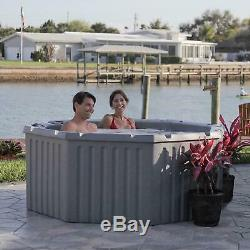 Levity 11-Jet Hot Tub Heavy-duty insulated Spa with 2-speed pump, 4-5 people