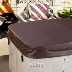 Lifesmart Spas Rock Solid Simplicity 4-Person Hot Tub Spa with Cover (Open Box)