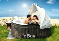 Mspa Nest 2 Bathers nflatable Hot Tub Spa Jacuzzi Home Holiday Family Garden Fun
