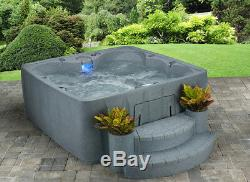 NEW 6 PERSON HOT TUB 29 JETS OZONE SYSTEM PLUG n PLAY 3 COLOR OPTIONS