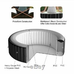 NEW 6 Person Massage Spa Portable Hot Tub Inflatable Outdoor Bubble Jets Patio