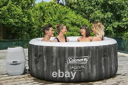 NEW Coleman 71 x 26 Bahamas Airjet Inflatable Hot Tub Spa 4-Person Jacuzzi