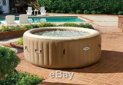 NEW Intex 4-Person PureSpa Bubble Massage Inflatable Hot Tub FREE SHIPPING