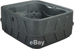 New 4 Person Hot Tub 14 Jets Waterfall -easy Maintenance 3 Color Options