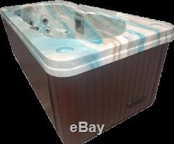 PCS2000 2 Person Outdoor Whirlpool Spa Hot Tub with 18 Therapy S Steel Jets