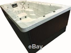 PHT2700 Swim Spa Outdoor Whirlpool Lounger Spa Hot Tub with 37 Therapy Jets