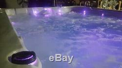 PHT4000 Deep Party Spa Outdoor Whirlpool Lounger Hot Tub with 64 SS Therapy Jets