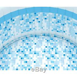 Portable Hot Tub Inflatable Jacuzzi Pool Backyard Patio Outdoor Blow Up Large