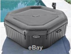 Portable SPA Hot Tub Inflatable Outdoor Jacuzzi 2-4 Person Octagonal Bubble $499