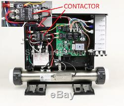 Spa Control Hot Tub Heater Controller Pack SMTD1000 KP-2010 ACC 5.5kW Free LED