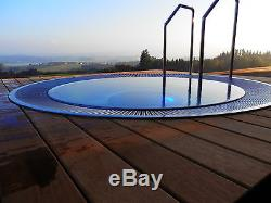 Stainless Steel Jacuzzi Hot Tub With Hydro-massage