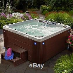 Strong Spas Spa Hot Tub Factory Refurbished Pre-Owned Mason 40 Jets Lounger