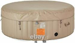 U-MAX Inflatable Hot Tub, Heater and Bubble Function SPA, Round, 2-4/4-6 Persons
