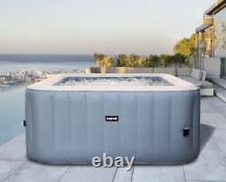 Wave Pacific Grey Inflatable Hot Tub (2-4 Person)